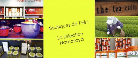 Notre Sélection de boutiques de thé à Paris !