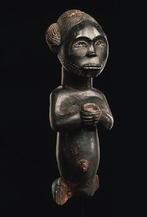 FANG GABON Figure de reliquaire Musée Dapper, Paris © ARCHIVES MUSÉE DAPPER – PHOTO HUGHES DUBOIS.