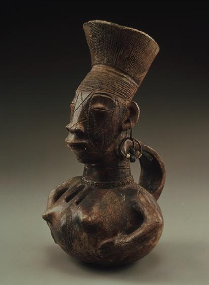 MANGBETU RÉPUBLIQUE DÉMOCRATIQUE DU CONGO Jarre anthropomorphe Collection particulière © ARCHIVES MUSÉE DAPPER ET HUGHES DUBOIS