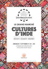 """Marché """"Cultures d'Inde"""""""