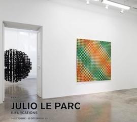 Julio Le Parc - Bifurcations à la Galerie Perrotin