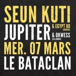 Seun Kuti & Egypt 80 / Jupiter & Okwess