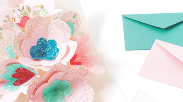 Workshop Carte Pop-Up Fleurs